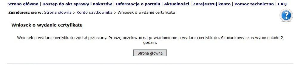 certyfikat w EPU 3