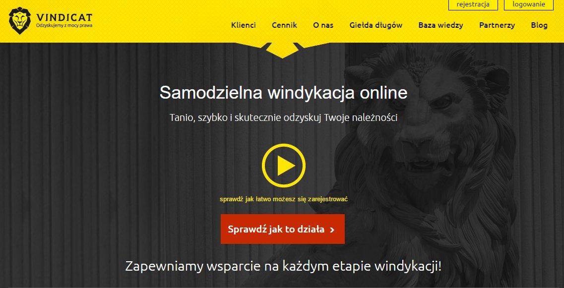 Porces windykacji - Vindicat.pl umożliwia jego zautomatyzowanie